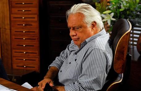 O ator também já foi empresário. Em 'Tempos modernos', interpretou Leal Cordeiro Alex Carvalho/TV Globo