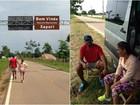 Casal percorre mais de 180 km a pé para pagar promessa no Acre