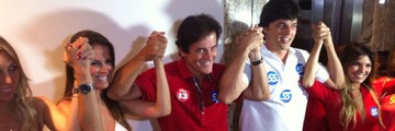 'Faremos um governo técnico', diz governador eleito (Felipe Gibson/G1)