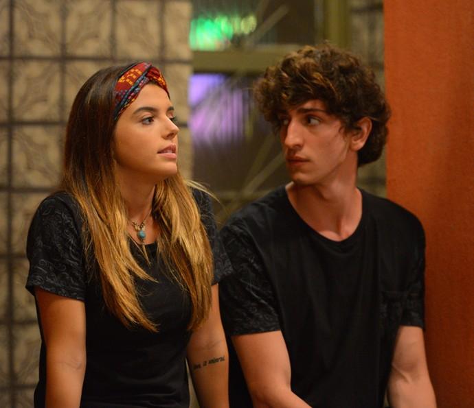 Primos desabafam sobre seus relacionamentos anteriores (Foto: Pedro Carrilho/ Gshow)