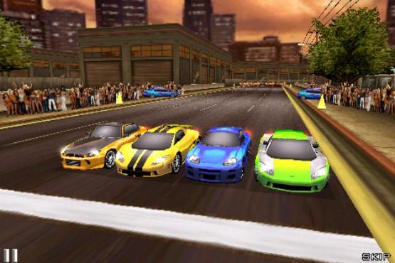 Фишки игры WiFi Multiplayer, запись своей гонки на видео и прямая