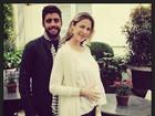 Luana Piovani exibe barriga de grávida no último dia em Paris