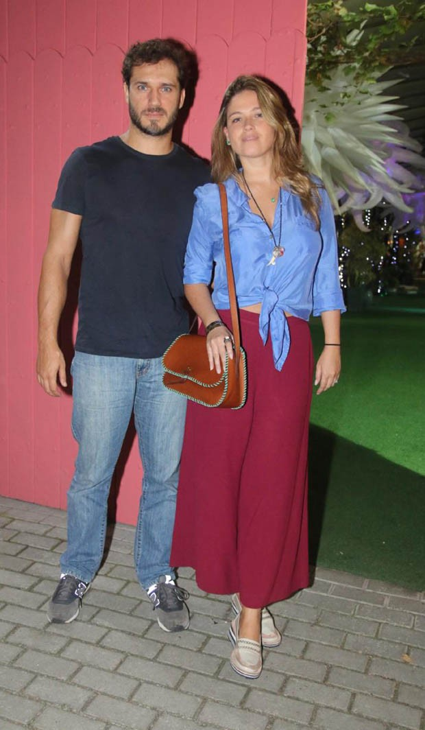 Paulo Rocha e Juliana Pereira (Foto: Daniel Pinheiro/AgNews)