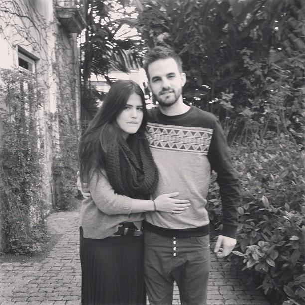Antônia Morais e Romeu Bentes-Montenegro (Foto: Reprodução Instagram)