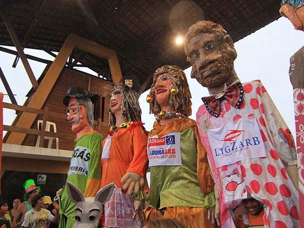 Carnaval caicoense é um dos mais tradicionais do estado (Foto: Canindé Soares/G1)
