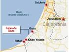 Foguete disparado da Faixa de Gaza mata soldado israelense
