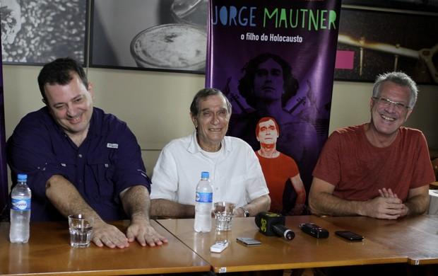 """PEDRO BIAL participa de coletiva do filme"""" Jorge Mautner - O Filho do Holocausto"""" (Foto: Henrique Oliveira/Fotorio News)"""