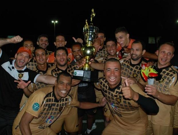 Projecta, campeão do Torneio Início 2012 do 7 Society do Espírito Santo (Foto: Divulgação/Fecafss)