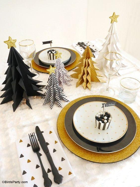 Ideias para mesa de Natal (Foto: Pinterest)