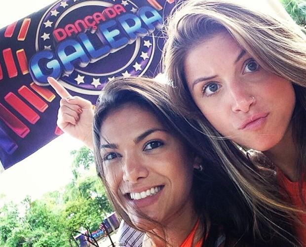 Carol Oliveira e Angela Sousa em Corumbá