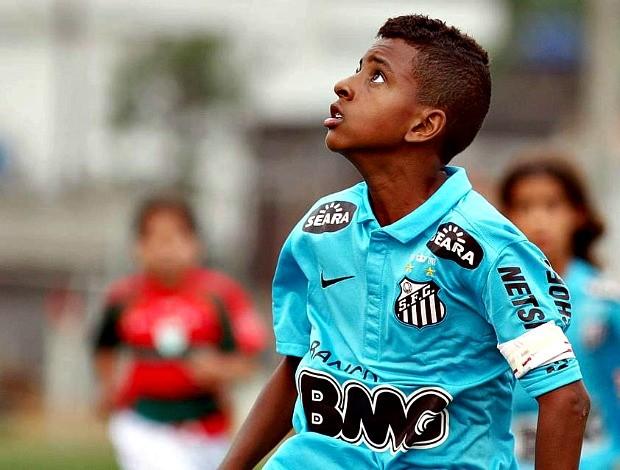 No sub-11, Rodrygo marcou 20 gols e foi artilheiro do Campeonato Paulista (Foto: Arquivo Pessoal)