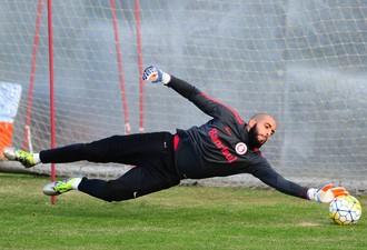 Danilo Fernandes, goleiro, Inter (Foto: Ricardo Duarte / Internacional)
