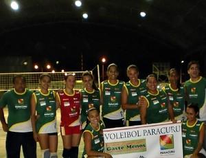 Seleção de vôlei de Paracuru (Foto: Divulgação)
