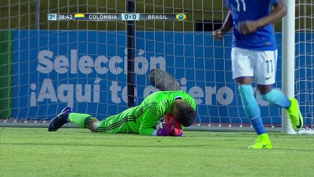 Colômbia x Brasil - Campeonato Sul-Americano sub-20 2017 ... 89141cb9e94a5