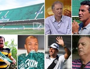 Ex-atletas de Guarani e Ponte Preta dão seus palpites para o dérbi deste domingo (Foto: Arte / Globoesporte.com)