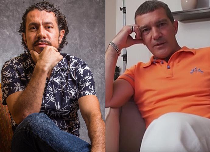 Rômulo, do BBB17, foi comparado com o ator espanhol, Antonio Banderas (Foto: Gshow)