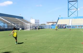 Iranduba-AM intensifica finalizações na véspera de jogo com a Portuguesa