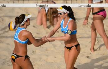 Meninas do Brasil repetem homens e vão bem no Grand Slam de Moscou
