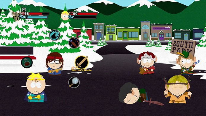 south-park-sistema-de-combate-ataque