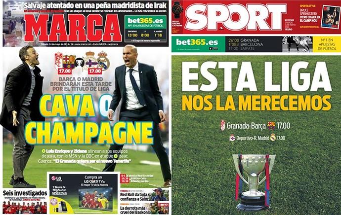 Jornal espanhol (Foto: Reprodução )