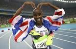 Mo Farah: o bicampeão olímpico dos 5.000m e 10.000m (Reuters)