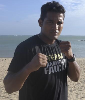 Yamaguchi Falcão, pugilista capixaba (Foto: Richard Pinheiro/GloboEsporte.com)