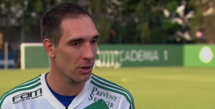 Prass diz que Palmeiras tem base montada para 2016 (Foto: Reprodução SporTV)