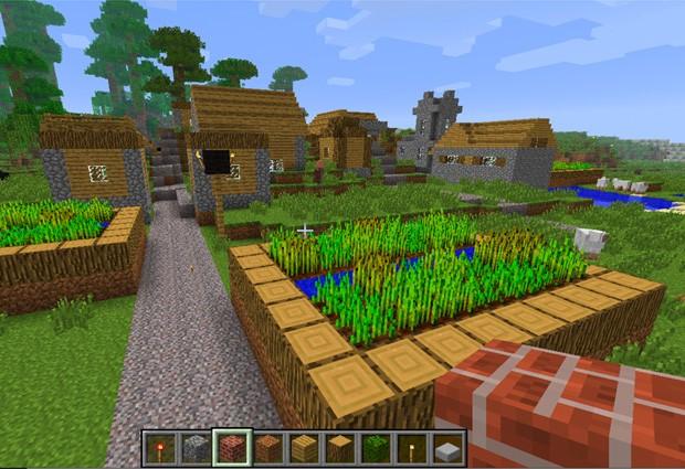 Reprodução de tela do game Minecraft (Foto: Reprodução)