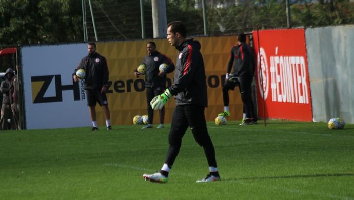 Internacional Inter Marcelo Lomba Inter treino Inter (Foto: Tomás Hammes/GloboEsporte.com)