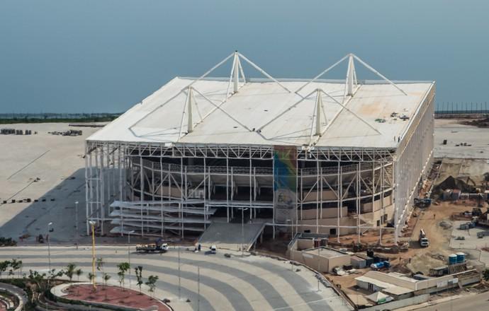 Estádio Aquático do Parque Olímpico (Foto: Renato Sette Câmara/Prefeitura do Rio)