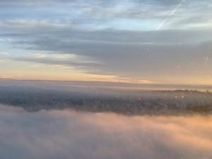Quarta começa com névoa e temperaturas mais altas no RS