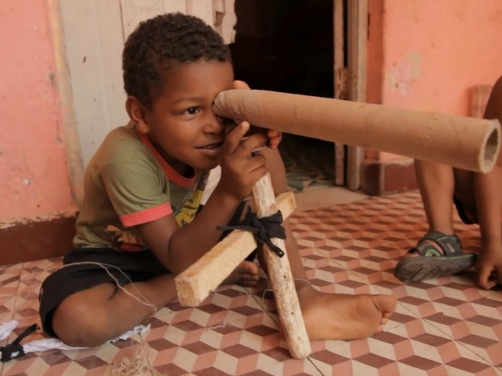 Filme Território de brincar (Foto: Divulgação)