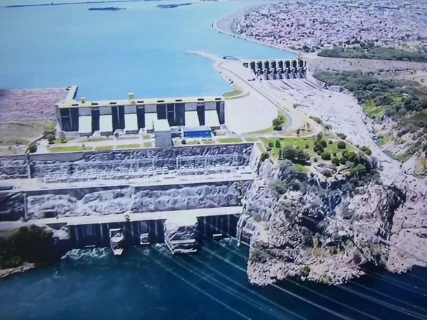 Ator desapareceu no rio próximo da Usina Hidrelétrica de Xingó (Foto: Reprodução/TV Sergipe)