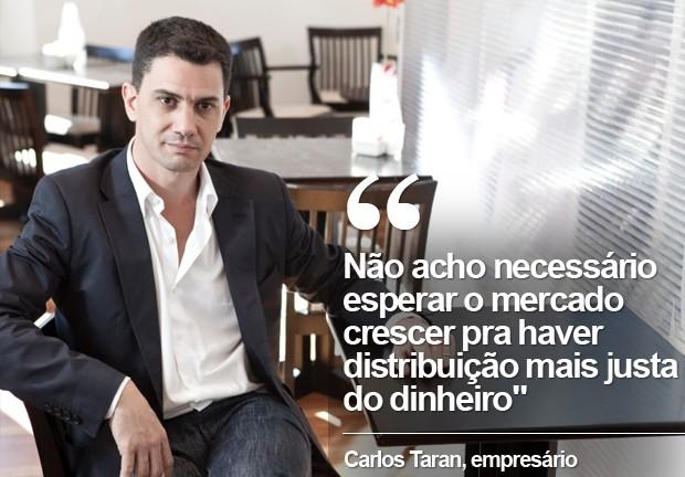 Carlos Taran (Foto: Rafael Lejtreger/Divulgação)