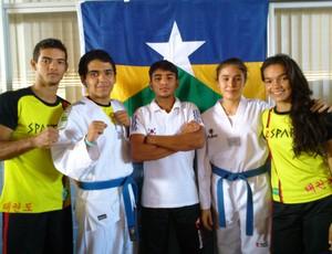 Atletas de Rondônia (Foto: Arquivo pessoal / Franck Lopes)