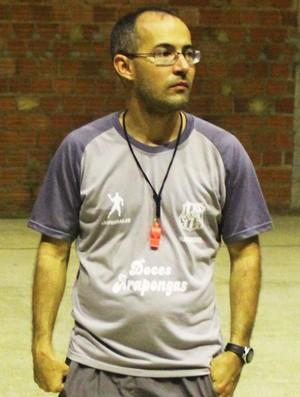 Giuliano Ramos, treinador do CAIC Balduíno (Foto: Emanuele Madeira/GloboEsporte.com)