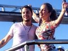 Claudia Leitte elogia cantor de axé: 'O mais bonito do Brasil'