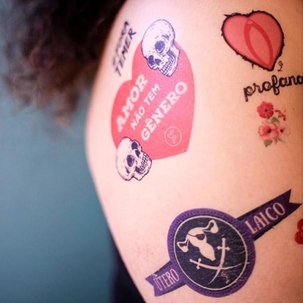 Tatuagem da Conspiração Libertina (Foto: Reprodução)