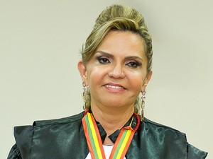 Desembargadora Cezarinete Angelim (Foto: Divulgação TJ-AC)