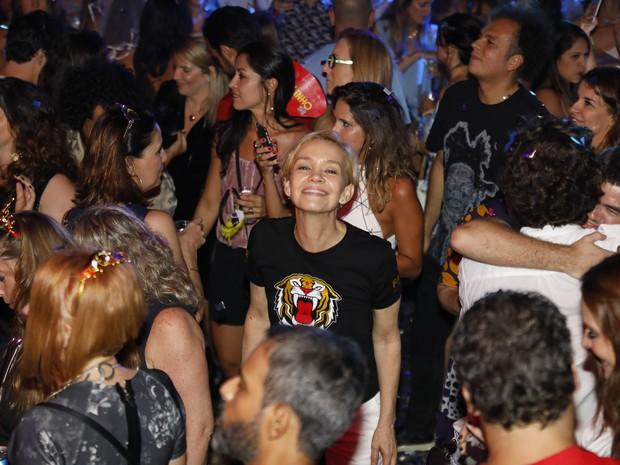 Júlia Lemmertz em festa no Centro do Rio (Foto: Felipe Panfili/ Divulgação)