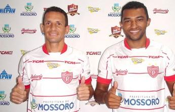Potiguar de Mossoró anuncia contratação de dois volantes