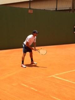 Tenista de Mogi das Cruzes, Andre Miele, vence na estreia (Foto: Divulgação / Pertti Vesantera)