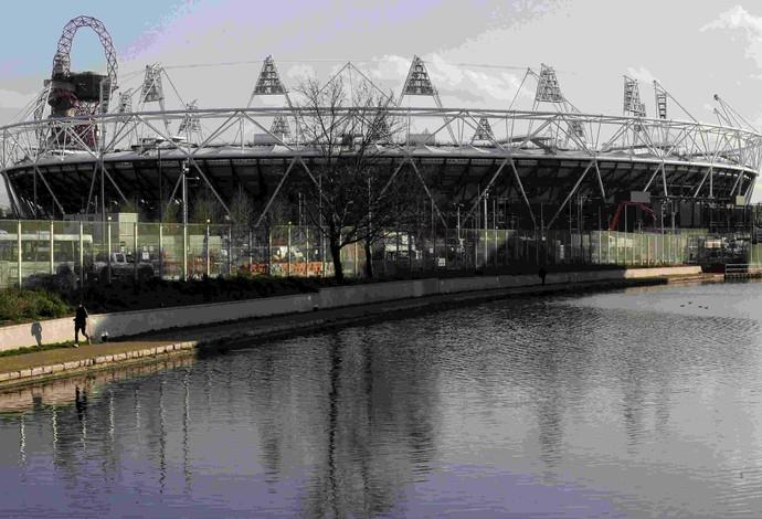Estádio olímpico Londres-2012 (Foto: AP)