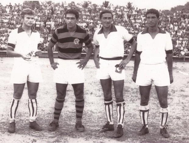 Garrincha jogou em Natal pelo Flamengo em 1969 (Foto: Acervo/Ribamar Cavalvante)