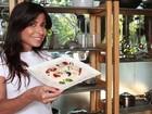 Ana Lima prepara receita light de Réveillon para o EGO