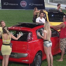 Primeira prova do BBB 13 valendo uma imunidade (Foto: Reprodu&#231;&#227;o)
