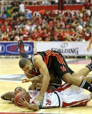 Flamengo x Paulistano final NBB basquete (Foto: André Durão / Globoesporte.com)