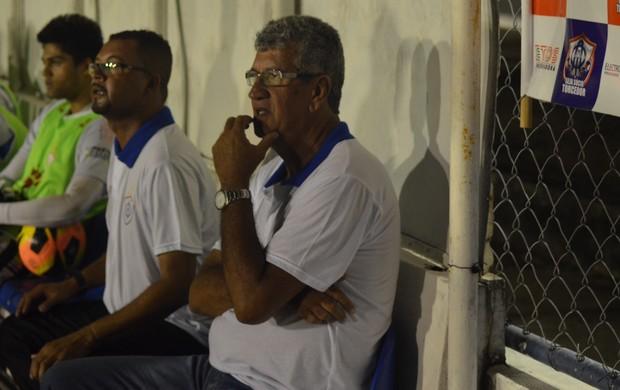 Dário pede para Itabaiana voltar à realidade (Foto: Thiago Barbosa)