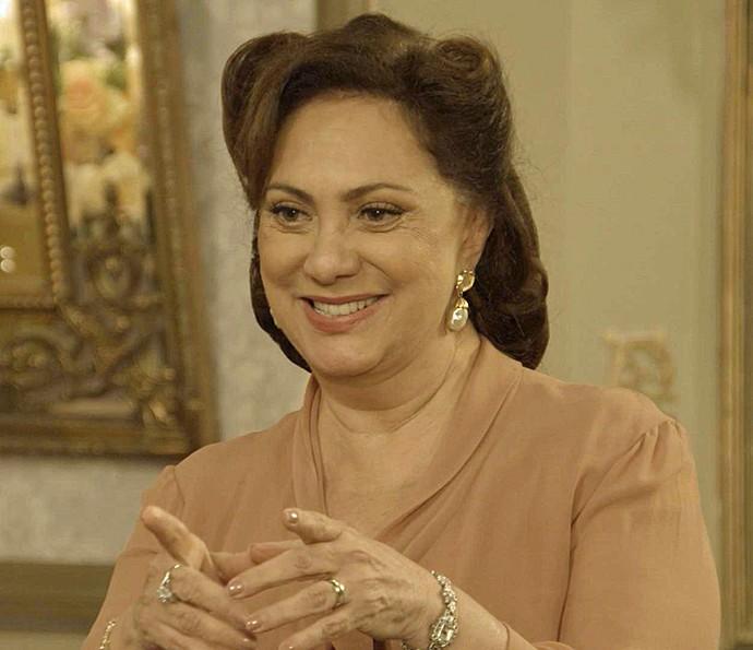 Anastácia já sabe o que pretende para o futuro da família  (Foto: TV Globo)