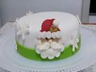 Designer de doces mineira personaliza bolos e enfeita mesas no Natal